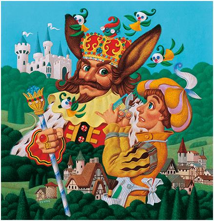 劇団四季「王様の耳はロバの耳」 写真