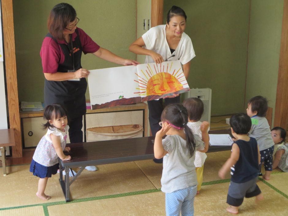 親子サロンWARABE~!(わらびぃ)で、イングリッシュと島の文化を楽しもう!! 写真